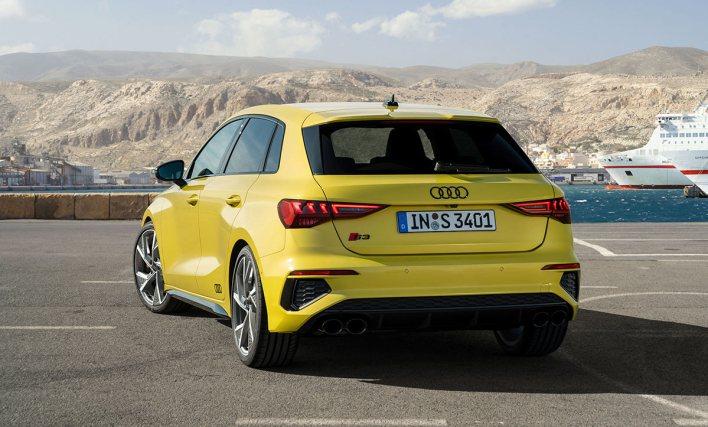Arrière Audi S3 Sportback