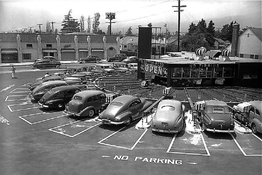 Motormat Drive-In 1948