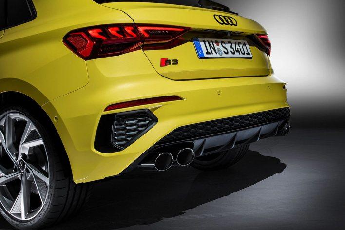 Échappement Audi S3 2020
