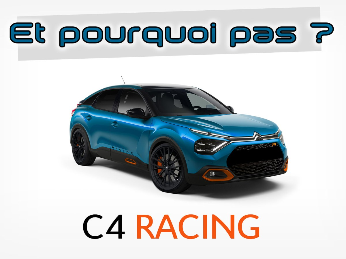 Photomontage Citroën C4 Racing