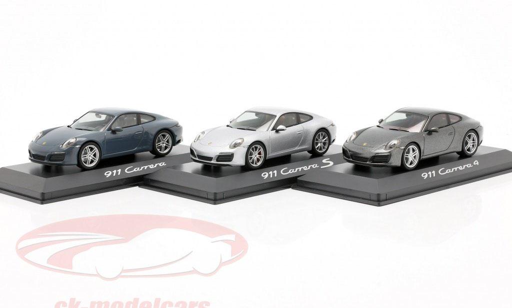 Lot de 3 Porsche 911 (991) Herpa