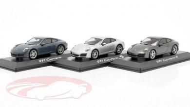 Photo de 1/43 : Un lot de 3 Porsche 911 (991) Herpa pour 29,95 €