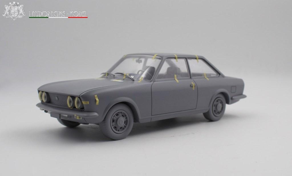 1/18 Fiat 124 Sport Coupé Laudoracing