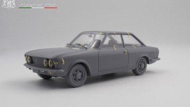 Photo de 1/18 : Laudoracing prépare la Fiat 124 Sport Coupé