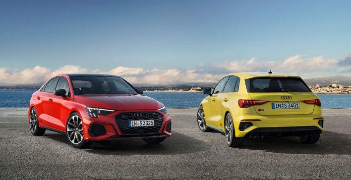 Nouvelle Audi S3 Sportback et Berline
