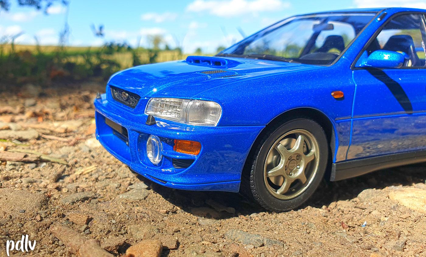 Subaru Impreza GT Turbo DNA détails