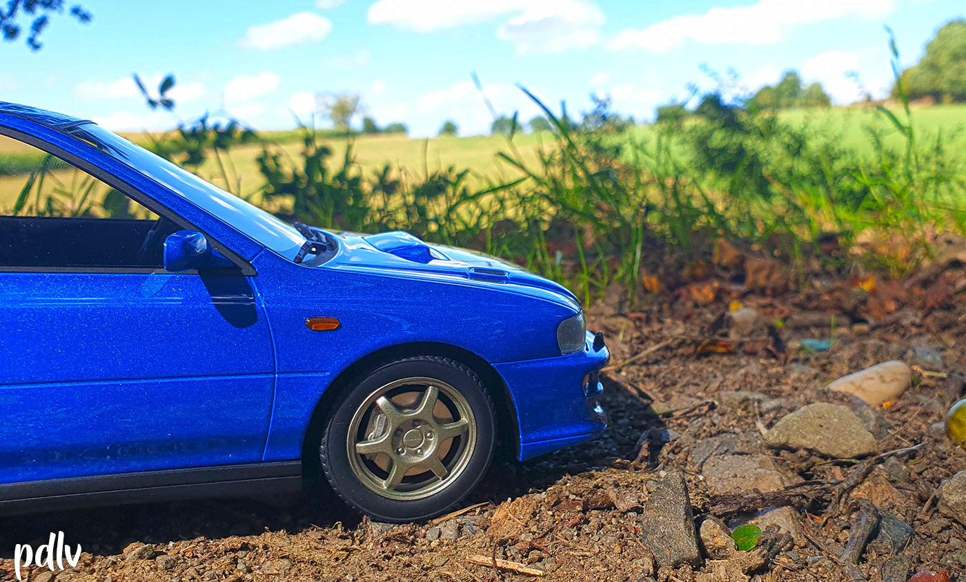 Roues Subaru Impreza GT Turbo DNA