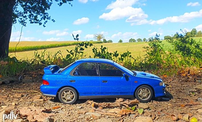 Subaru Impreza GT Turbo DNA profil