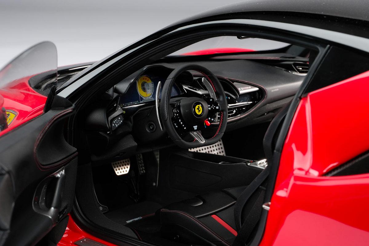 Intérieur miniature Ferrari F90 Stradale