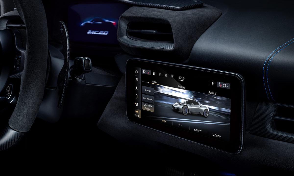 Intérieur Maserati MC20