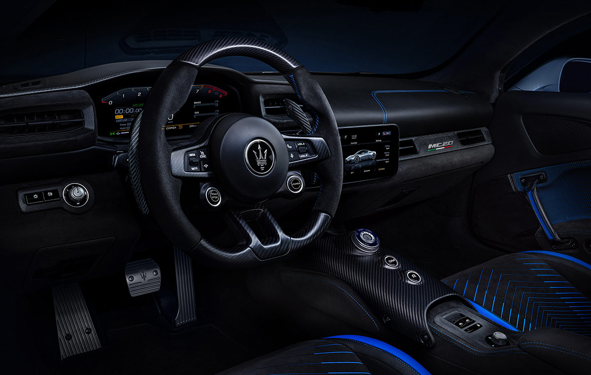 Volant Maserati MC20