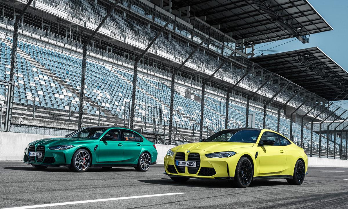 BMW M3 G80 et BMW M4 G82