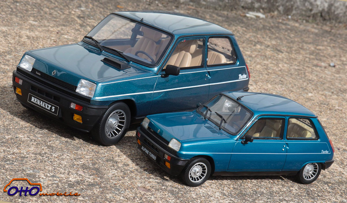 1/12 Renault 5 Alpine Turbo OttOmobile G054