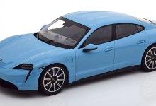 Photo de 1/18 : Le Porsche Taycan 4S débarque chez Minichamps