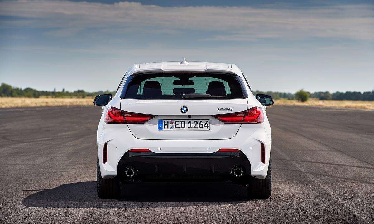 Arrière de la BMW 128ti