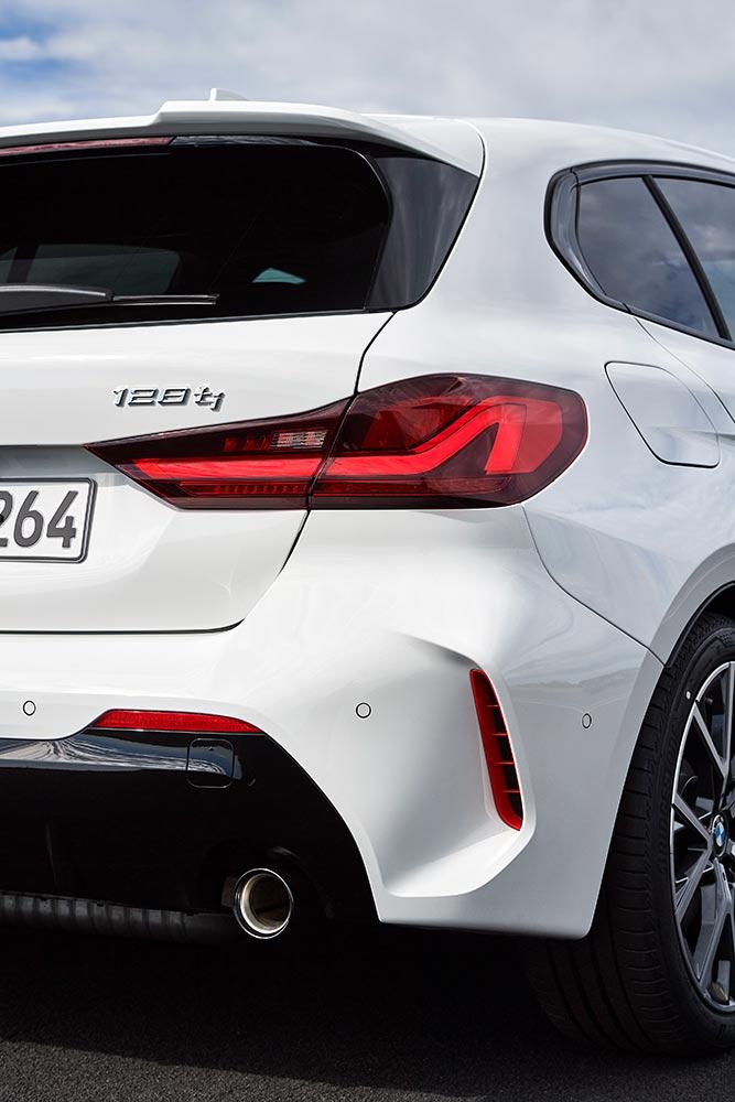 Arrière BMW 128ti