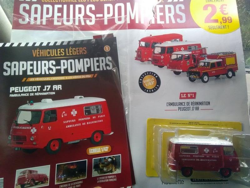 Collection Sapeurs-Pompiers Hachette