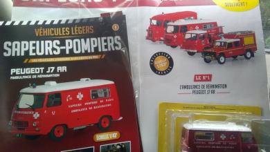 Photo de Hachette : Les véhicules légers des Sapeurs-Pompiers au 1/43