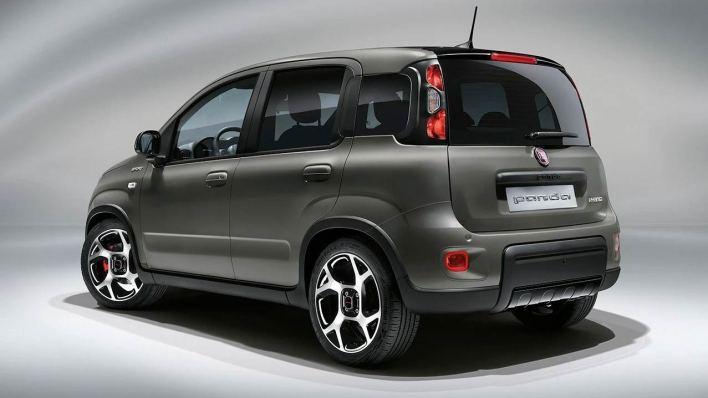 Arrière Fiat Panda 3 Sport