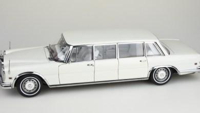 Photo de 1/18 : CMC sort une Mercedes 600 Pullman toute blanche