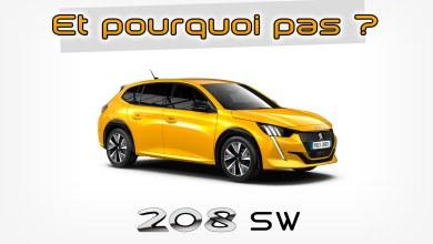 Photomontage Peugeot 208 SW