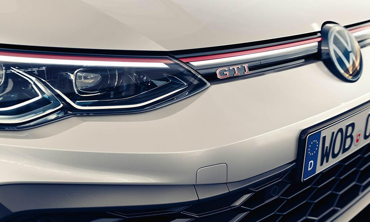 Calandre Volkswagen Golf 8 GTI Clubsport