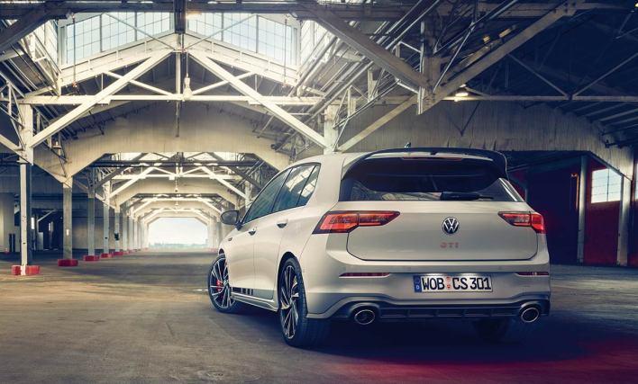 Arrière Volkswagen Golf 8 GTI Clubsport