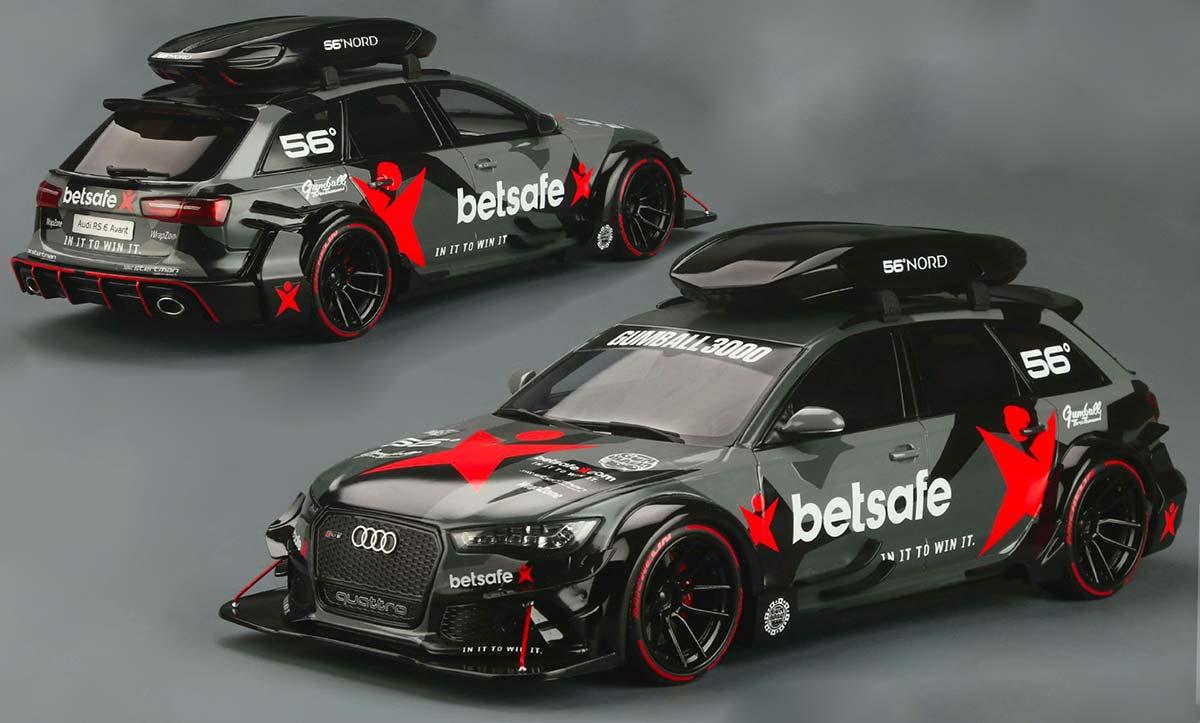 1/18 Audi RS 6 John Olsson miniature
