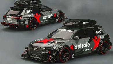 1/18 Audi RS 6 John Olsson miniature
