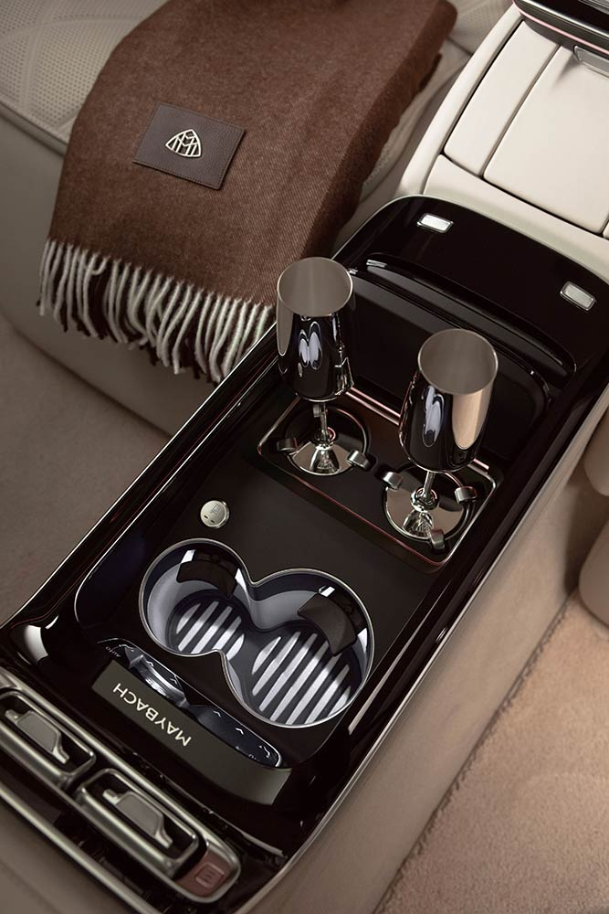 Console centrale Mercedes Maybach Classe S