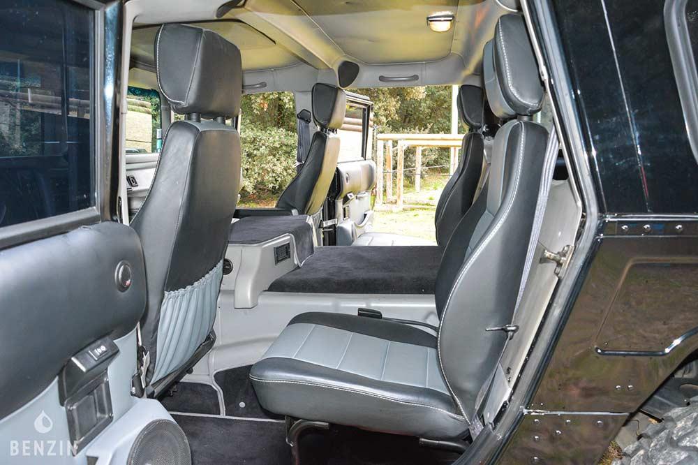 Places arrière Hummer H1