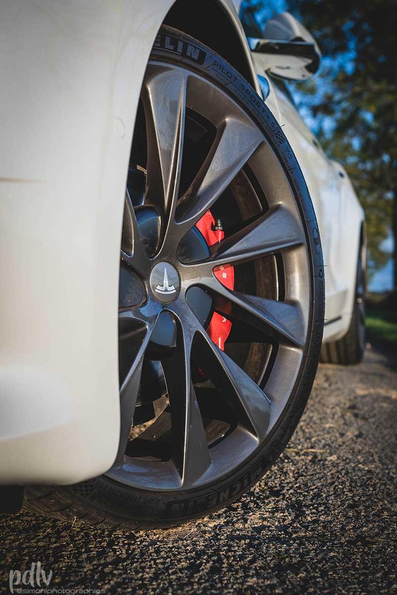 Jantes 21 pouces Tesla Model S Performance