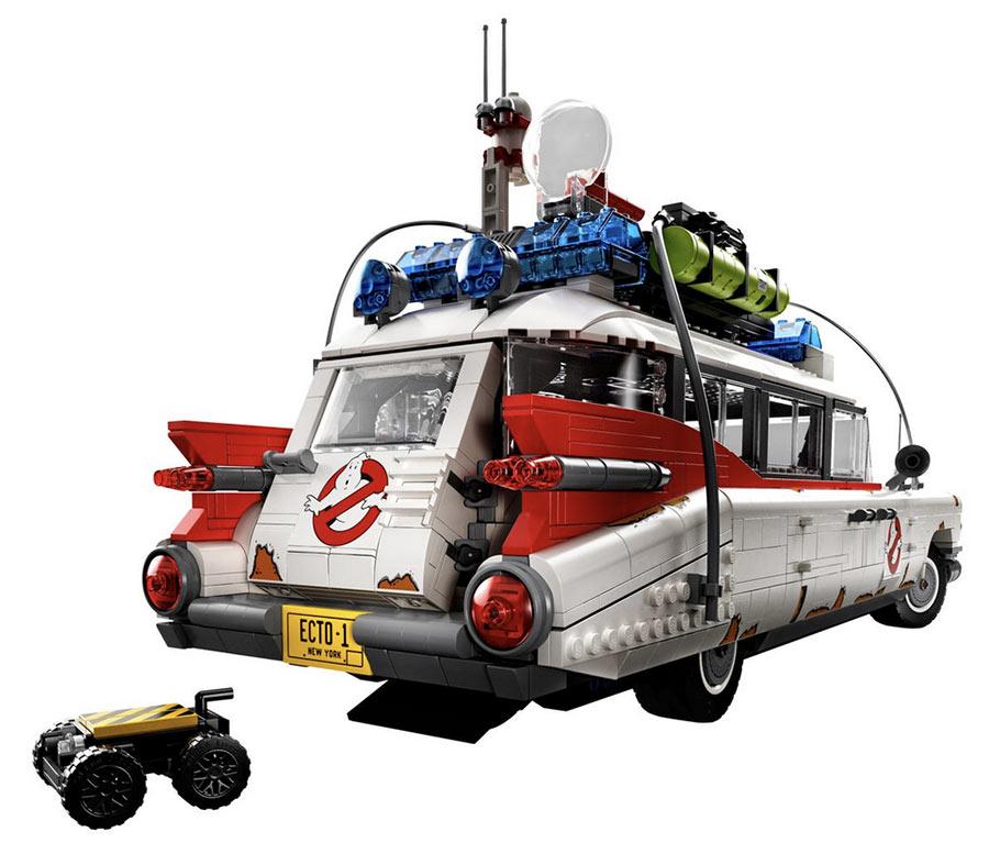 arrière 10274 Lego Ghostbusters