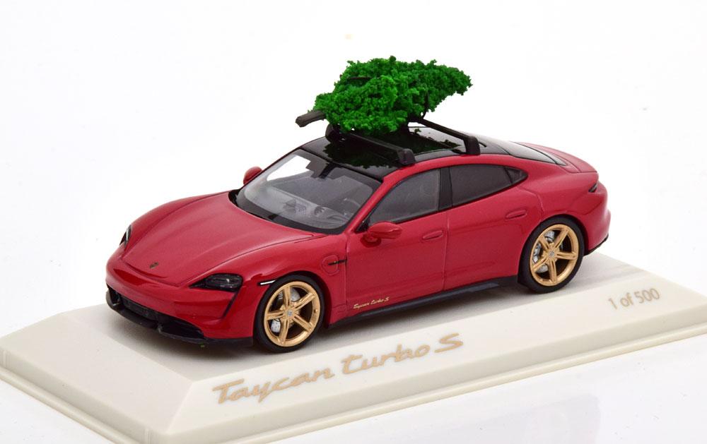 1/43 Porsche Taycan Turbo S Christmas