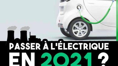 Voiture électrique 2021