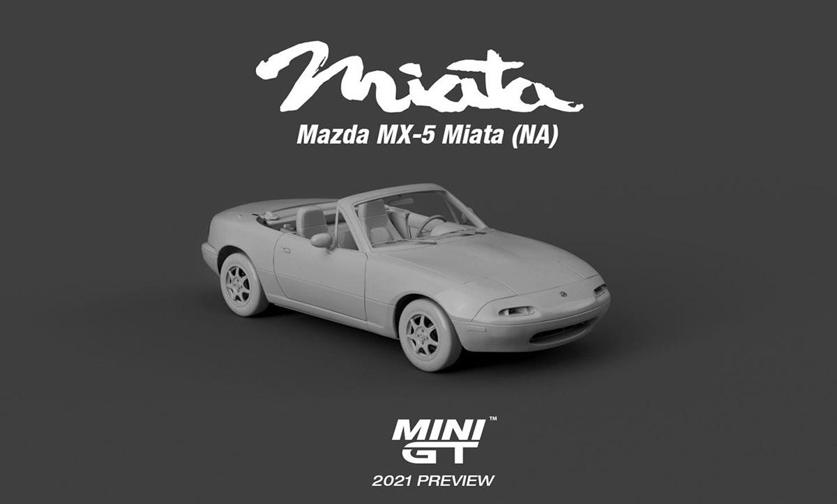 1/64 Mazda MX-5 Mini GT