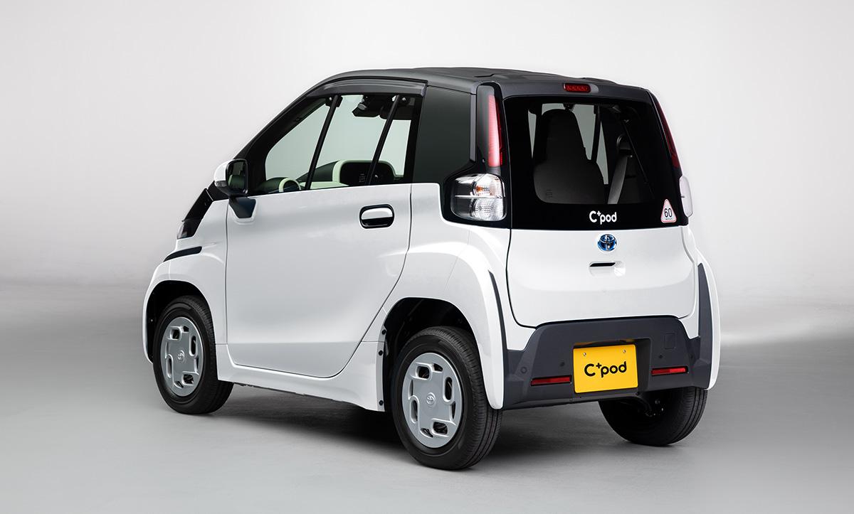 Arrière de la Toyota C+pod