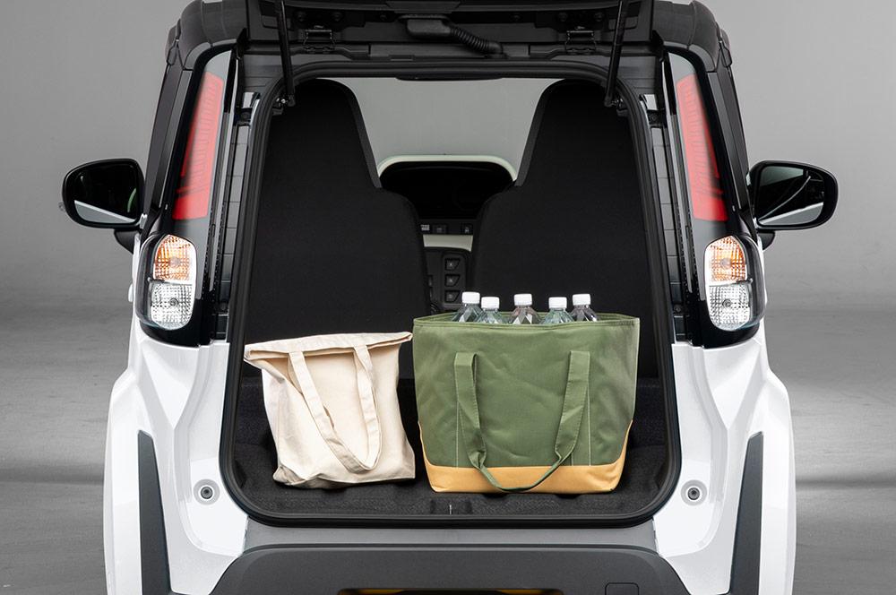 Toyota C+pod coffre