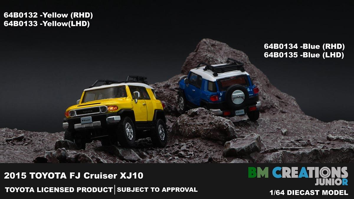 1/64 Toyota FJ Cruiser BM Creations