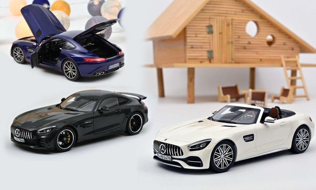 1/18 Mercedes AMG GT Norev 2021