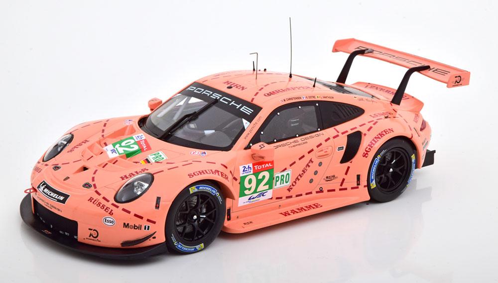 1/18 Porsche 911 RSR Pink Pig IXO