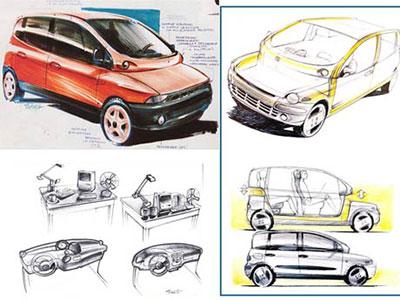 Prototype Fiat Multipla
