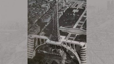 Tour Eiffel parking rampes