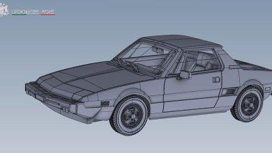 Fiat X1/9 Laudoracing 1/18