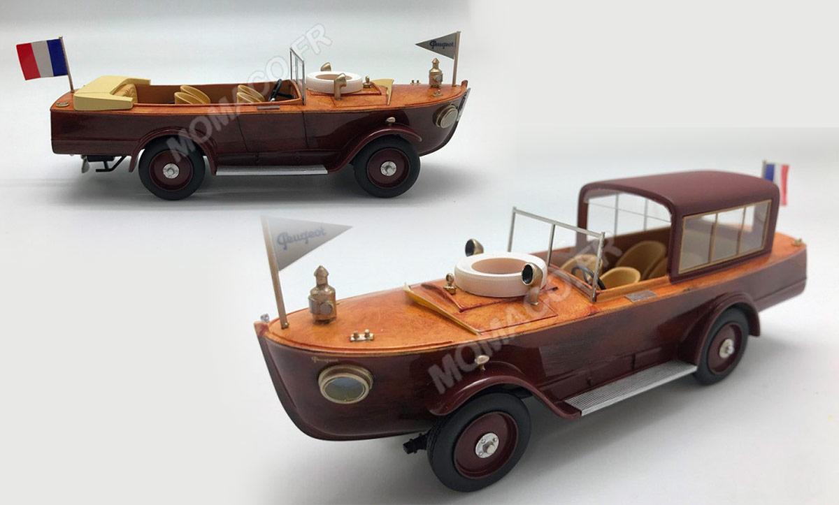 1/43 Peugeot 177 Motorboat Franstyle