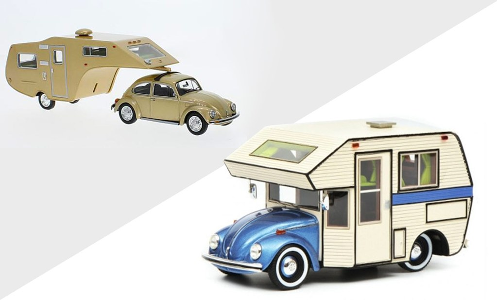 1/43 Volkswagen Coccinelle promotion Modelcarworld