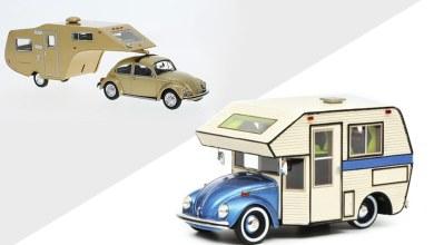 1/43 Volkswagen Coccinelle promotion Modelcarworld