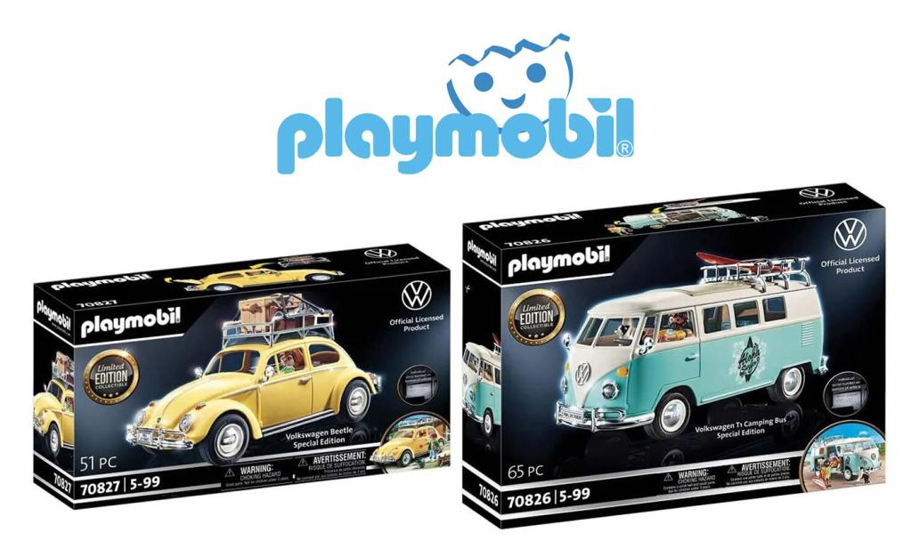 Playmobil Volkswagen 70826 70827