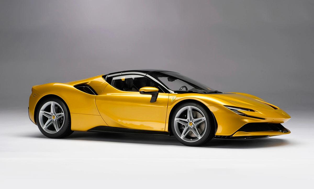 1/8 Ferrari SF90 Spider Amalgam