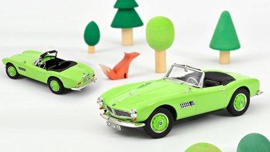 Norev 183233 BMW 507 green